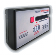 Násuvný měřící přístroj propustnosti bočních stahovacích autoskel Pocket Detective 2.1.