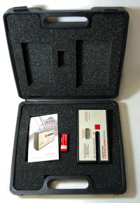 Pocket Detective 2.1. měřicí přístroj propustnosti světla stahovacími autookny v robustném kufříku.