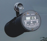 Pevné meřidlo propustnosti světla tónovanými auto-okny Pocket Detective - výrobce Monroe.